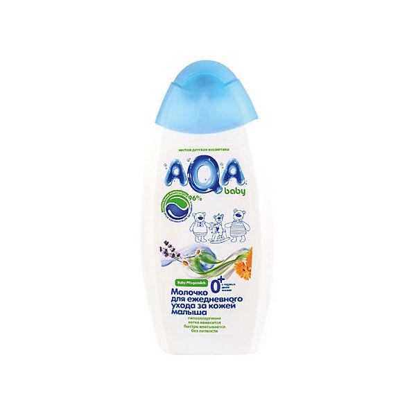 Молочко для ежедневного ухода за кожей малыша, AQA baby, 250 мл.
