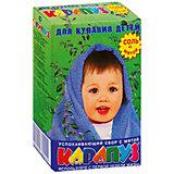 Соль для ванны детская мята, КАРАПУЗ , 500 гр.
