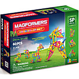 """Магнитный конструктор """"Neon color set 60"""", MAGFORMERS"""
