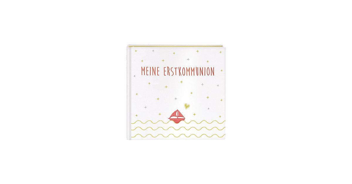 Buch - Meine Erstkommunion, Eintragalbum, Satin weiß