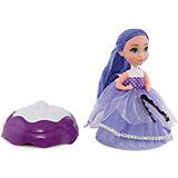 """Кукла """"Сладкий сюрприз"""", ABtoys, голубой-фиолетовый"""