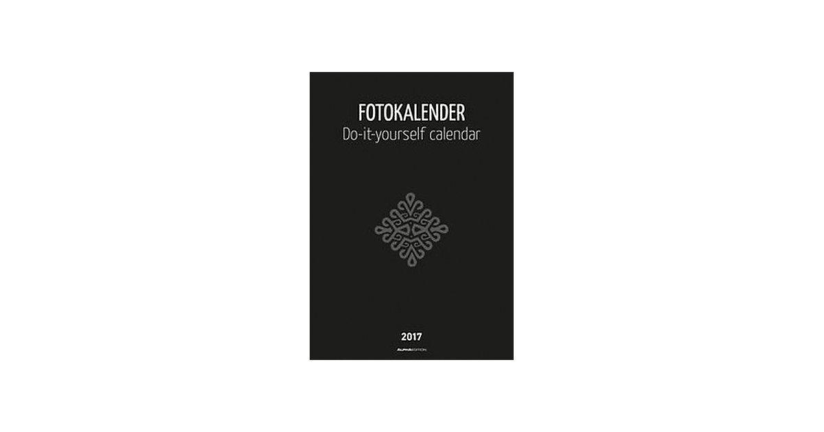Buch - Fotokalender schwarz (Format 30 x 21 cm)