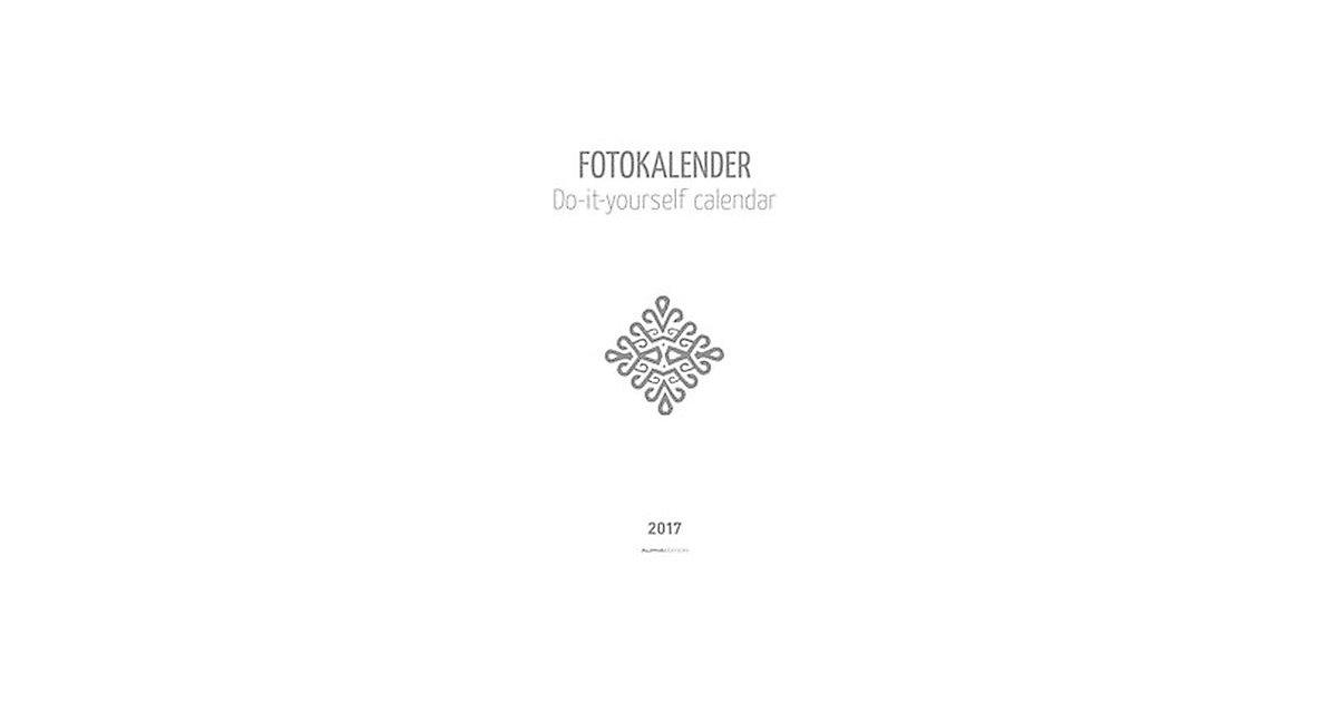 Buch - Fotokalender weiß (Format 30 x 21 cm)