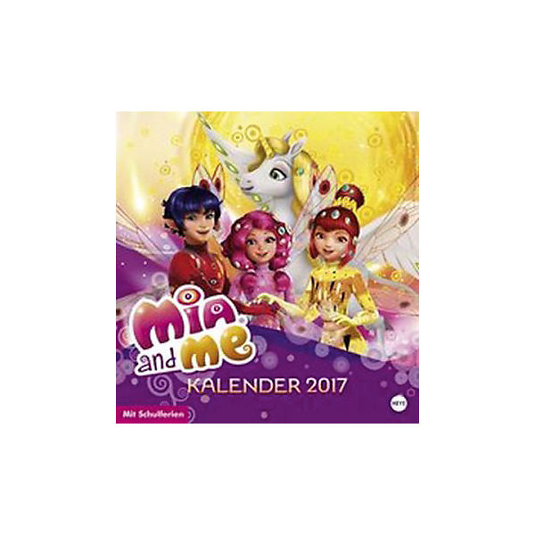 Mia and me Posterkalender quadratisch
