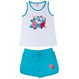 Комплект: майка и шорты для девочки SELA