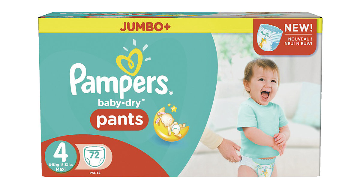pampers baby dry maxi megapack gr e 4 preisvergleich pampers windeln g nstig kaufen bei. Black Bedroom Furniture Sets. Home Design Ideas
