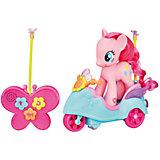 Флаттершай на скутере, р/у, My Little Pony