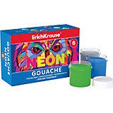 Гуашь Neon, 6 цв., 20 мл, Erich Krause