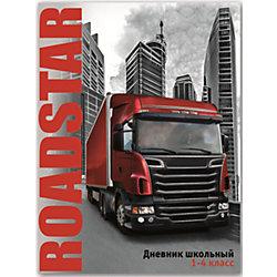 """Дневник """"Красный грузовик"""", 1-4 класс"""