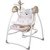 Электрокачели Butterfly 2 в 1 с адаптером, Baby Care, латте