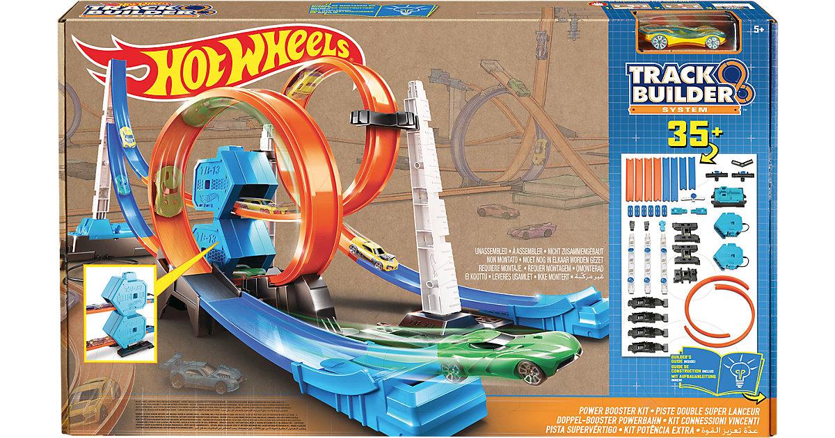 Hot Wheels Doppel-Booster Powerbahn