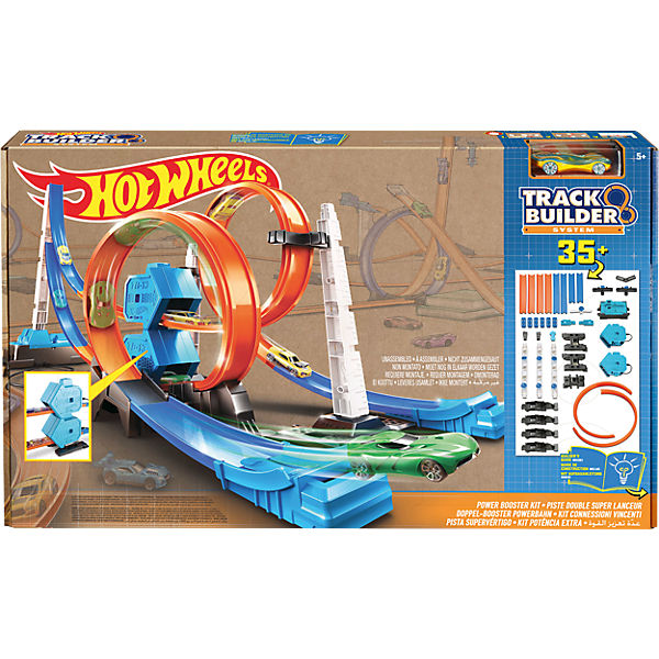 Hot Wheels Doppel-Booster Powerbahn