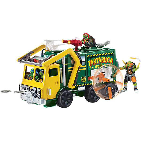 Turtles Movie II Turtle Tactical Truck ohne Figur