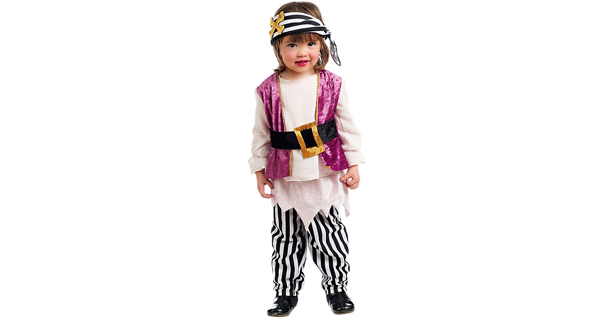 Kostüm Piratin Anne Gr. 104/110