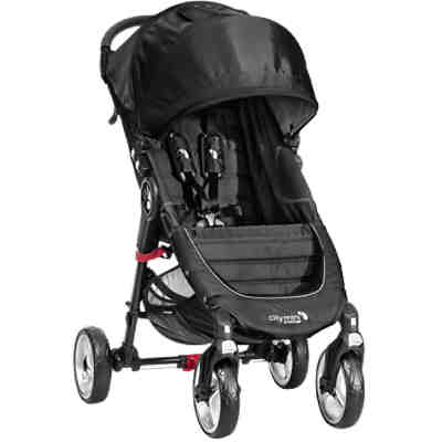 Sportwagen City Mini 4-Rad, black/ black, 2016