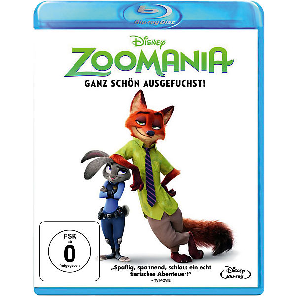 BLU-RAY Disney's - Zoomania