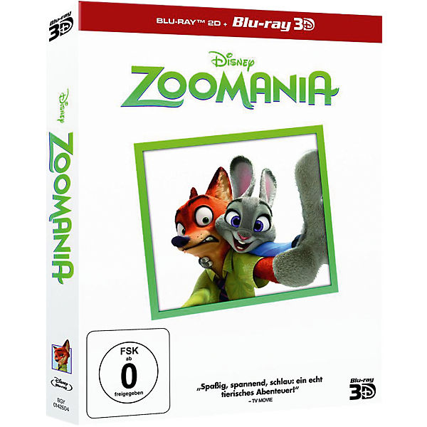 BLU-RAY Disney's - Zoomania 3D