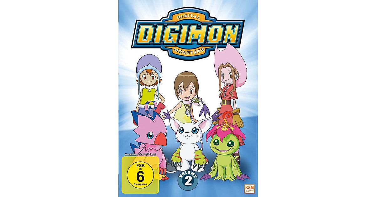 DVD Digimon Adventure - Season 1.2