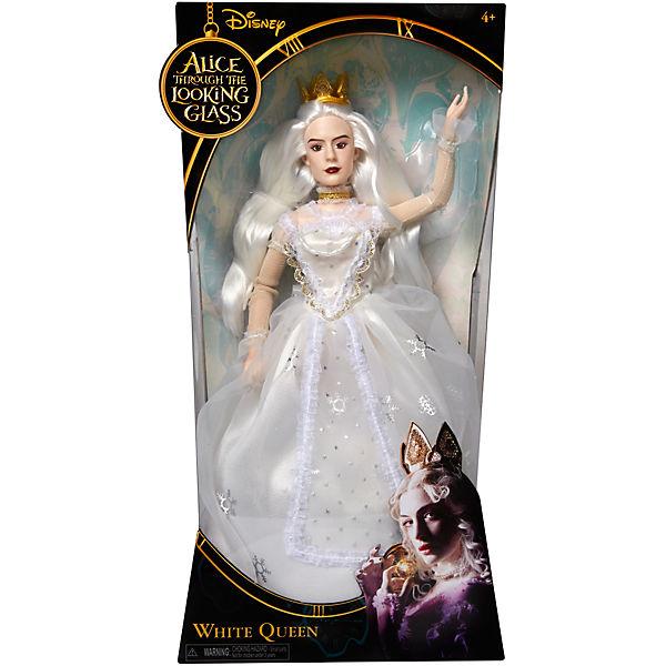 """Классическая кукла """"Белая Королева"""", Алиса в Зазеркалье"""