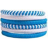 Резинка для волос, 6 шт Button Blue
