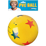 "Мяч ""Звездочки"" 15 см, InSummer"