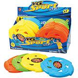 Летающая тарелка Цветная 24 см, Лето