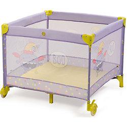 Манеж Alex, Happy Baby, фиолетовый