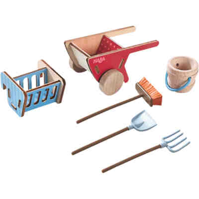 HABA 302093 Little Friends Pferdestall Zubehör-Set