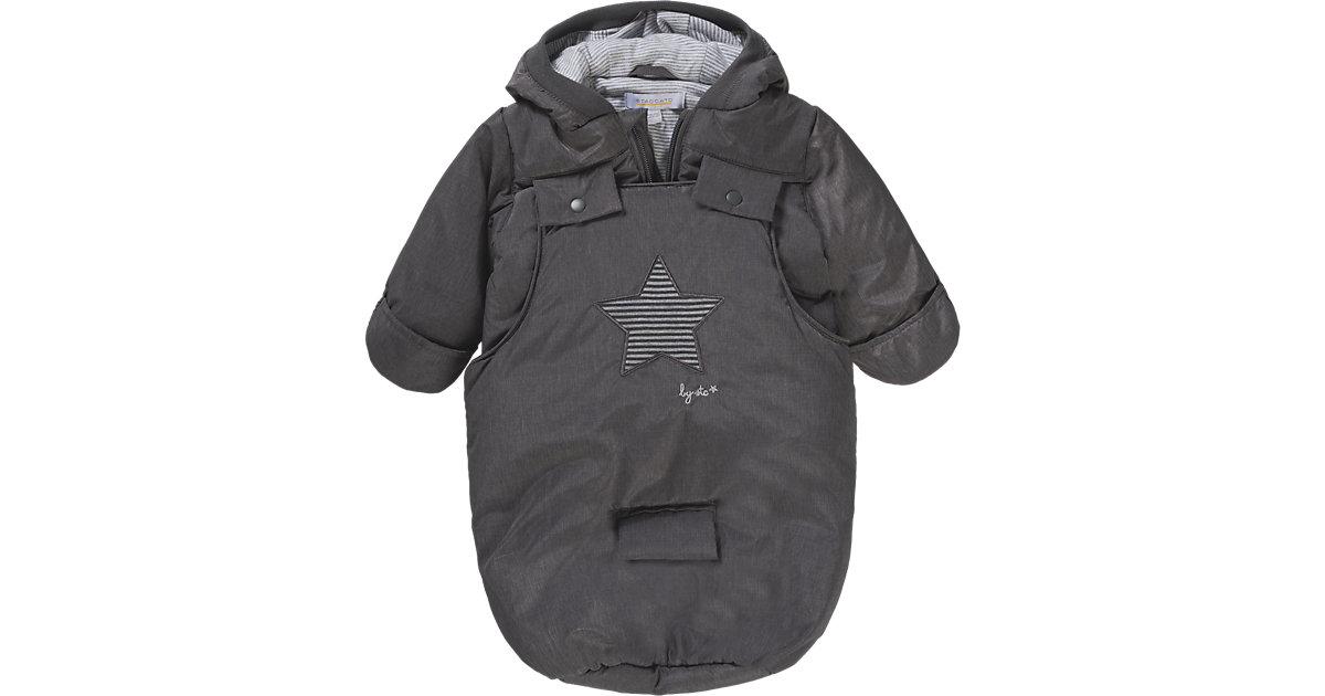 Baby Set Jacke + Wagensack Jungen grau Gr. 62/68 Kinder