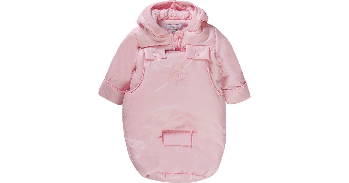 Baby Set Jacke + Wagensack Mädchen rosa Gr. 62/68 Kinder