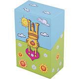 """Подарочный канцелярский набор """"Котик"""" (2 записные книжки, стикер,3 книжные закладки)"""