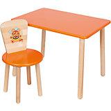 """Набор мебели """"Эко № 1"""", оранжевый"""