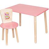 """Набор мебели """"Эко № 1"""", розовый"""