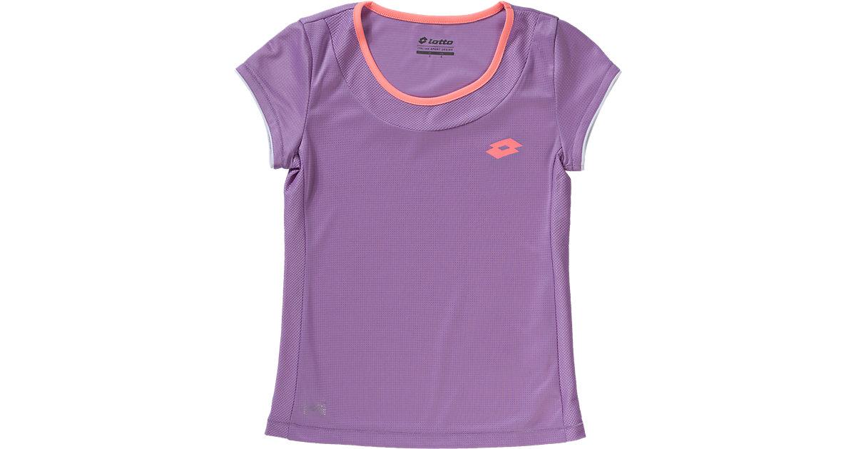 Tennis T-Shirt SHELA II flieder Gr. 128/140 Mädchen Kinder