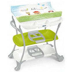 Стол для пеленания Nuvola, CAM, Bebe amore mio с салатовой полкой