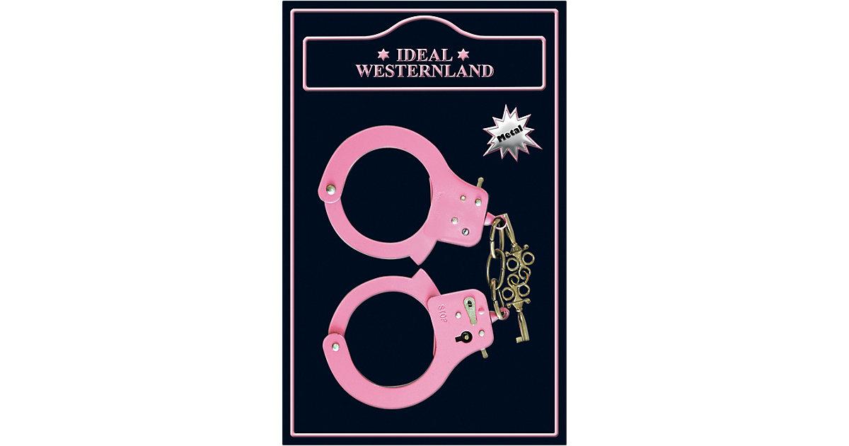Handschellen, pink Mädchen Kinder