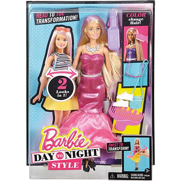 Барби в платье трансформере