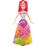 Радужная принцесса с волшебными волосами, Barbie
