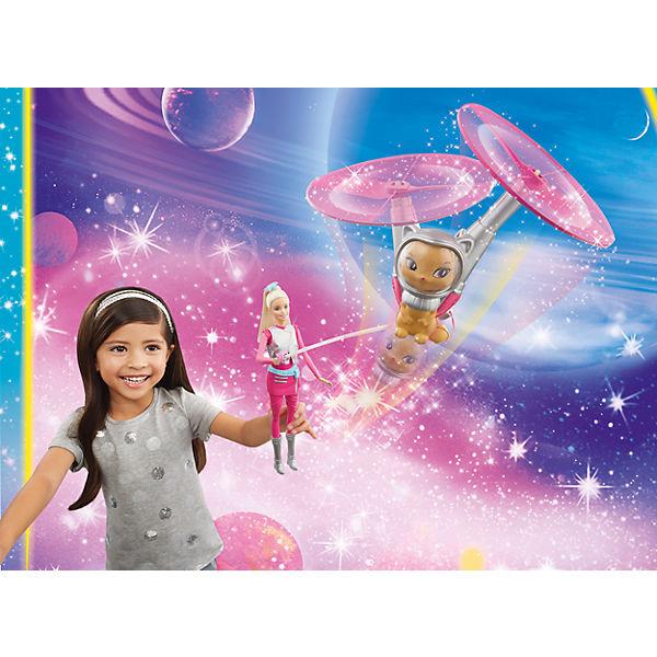 """Кукла с летающим котом Попкорном из серии """"Barbie и космические приключения"""""""