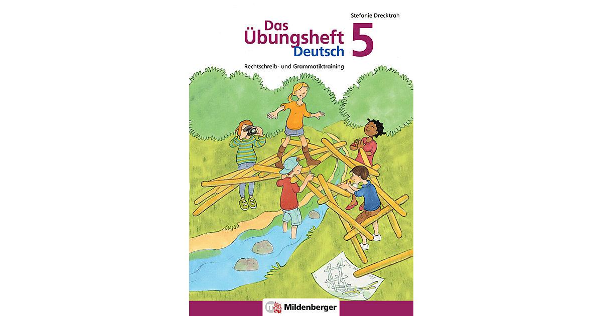 Buch - Das Übungsheft Deutsch: Drecktrah, Stefanie: 5. Schuljahr, Übungsheft