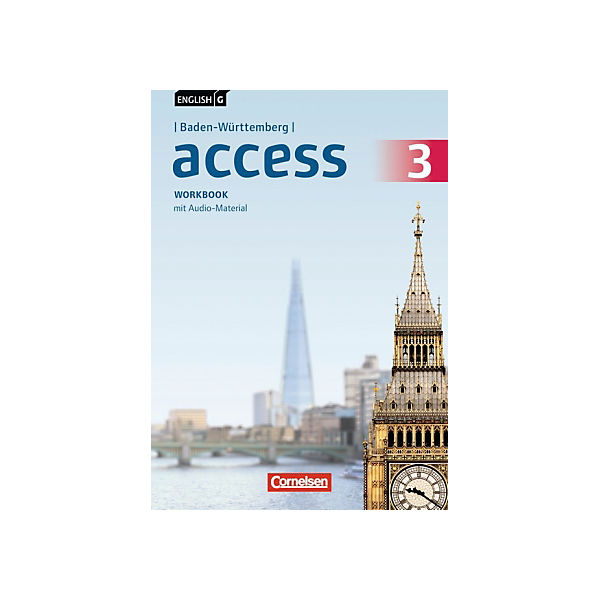 English G Access, Ausgabe Baden-Württemberg: 7. Schuljahr, Workbook mit Audio-Dateien als MP3-Download