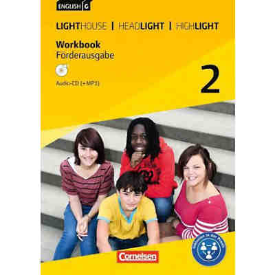 English G Lighthouse / G Headlight / G Highlight - Allgemeine Ausgabe: 6. Schuljahr m. Audio-CD (+MP3)