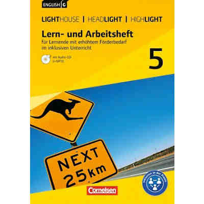 English G Lighthouse / G Headlight / G Highlight - Allgemeine Ausgabe: 9. Schuljahr, m. Audio-CD