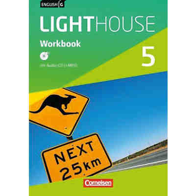 English G Lighthouse, Allgemeine Ausgabe: 9. Schuljahr, Workbook mit Audio-CD (+MP3)