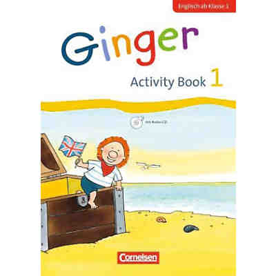 Ginger - Early Start Edition (Neubearbeitung): 1. Schuljahr, Activity Book mit Audio-CD
