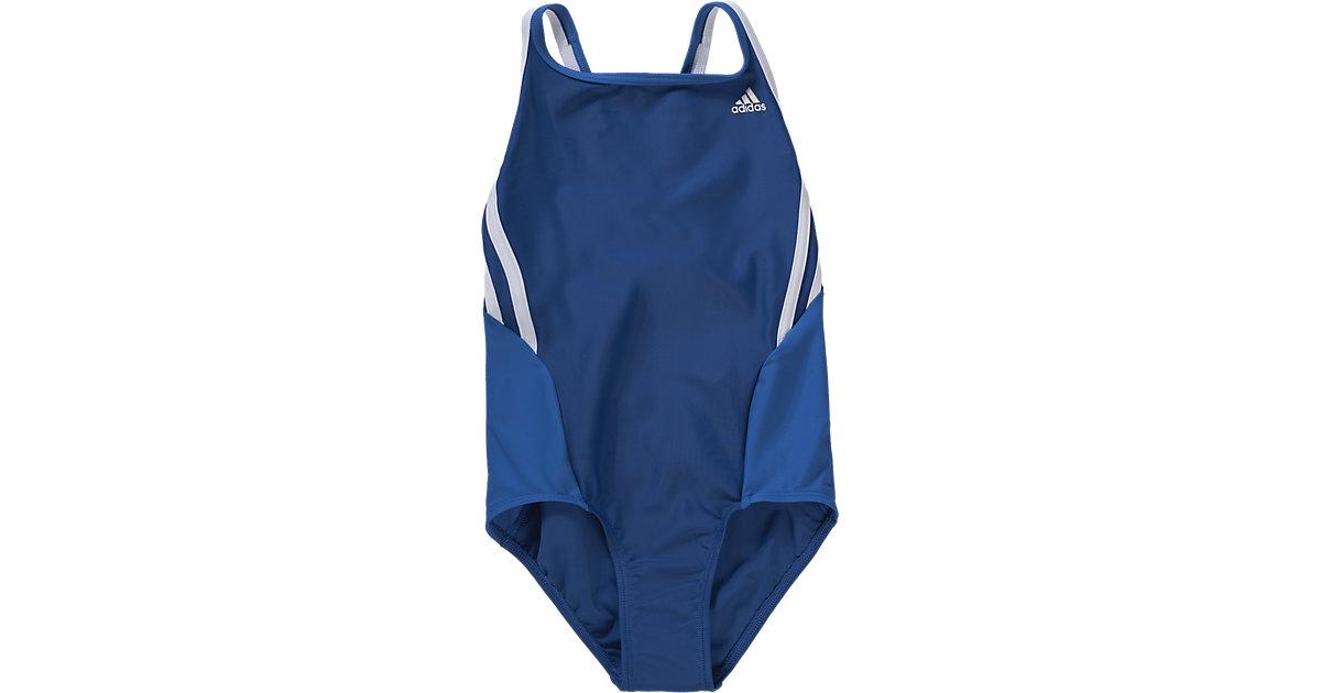 ADIDAS PERFORMANCE  Kinder Badeanzug blau Gr. 152 Mädchen Kinder