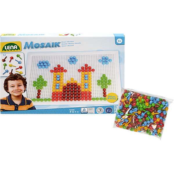 Design Studio Mosaik color, 200-tlg. + GRATIS Mosaikstecker