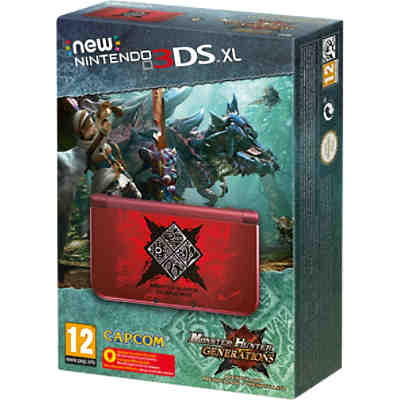 New Nintendo 3DS XL Konsole + Monster Hunter Generations Edition