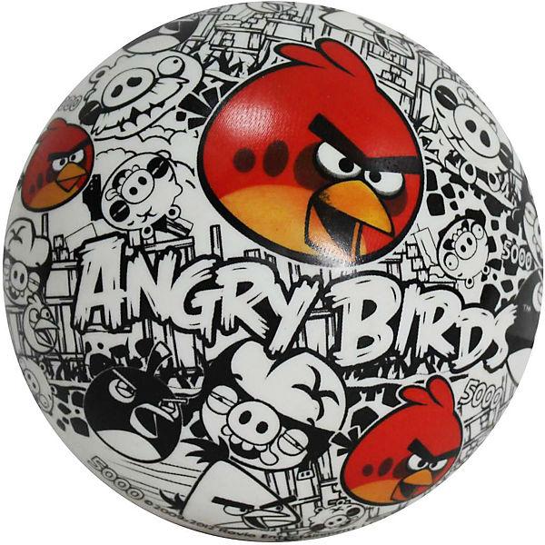 """Мяч """"Винтаж"""" (красно-бело-черный), 23 см, ПВХ, Angry Birds"""