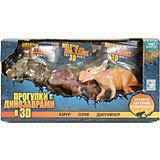 "Набор фигурок ""Прогулки с динозаврами 3D"", 1toy"